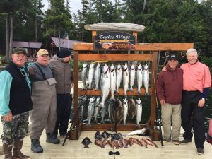 Salmon fishing Southeast Alaska