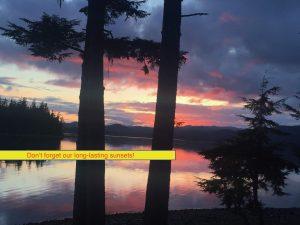 Alaska Sunsets-Eagles Wings Retreat 2019 Season