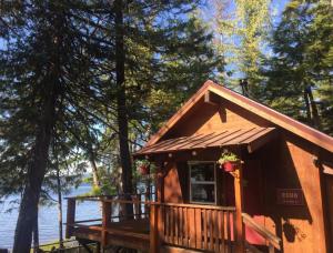 Coho Cabin Exterior